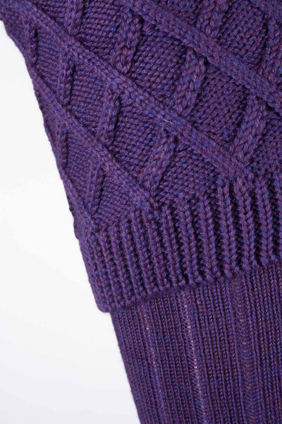 Purple/Pink - Ladies Rannoch Knit Socks