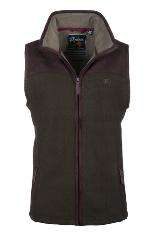 Dark Olive - Lady Garton Fleece Gilet