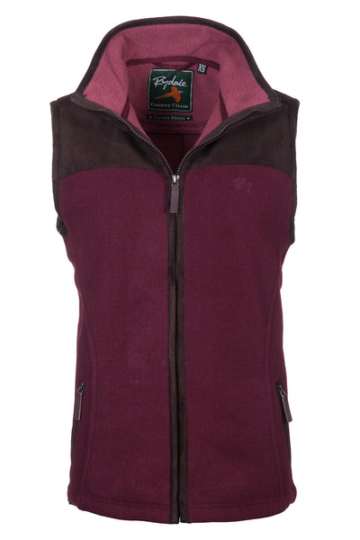Deep Red - Lady Garton Fleece Gilet