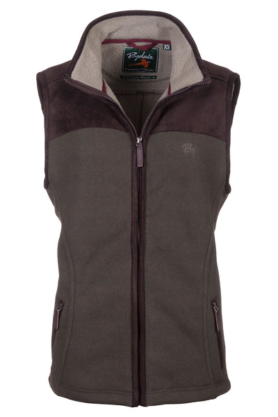 Light Olive - Lady Garton Fleece Gilet