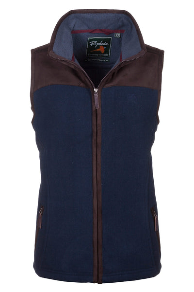 Navy - Lady Garton Fleece Gilet