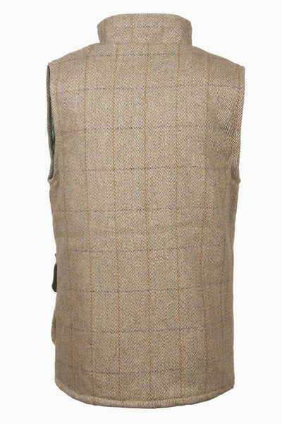 Light Check - Rydale Juniors Boys Derby Tweed Waistcoat