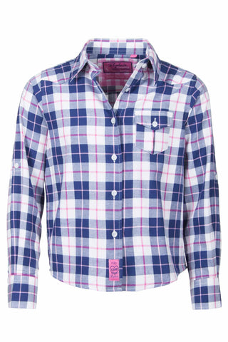 Lily Check - Rydale Juniors' Girls' Country Check Shirts