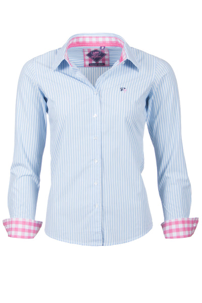 Louise - Pin Stripe Ladies Shirt