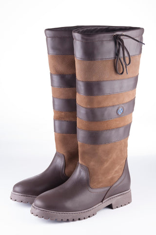 Malham Classic Wide Fit Leather Boots