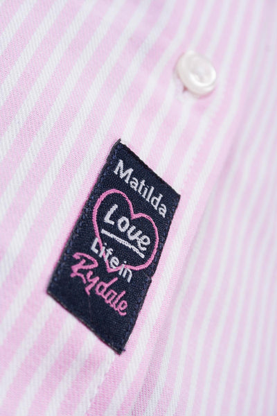 Matilda Stripe - Ladies Hannah Shirt