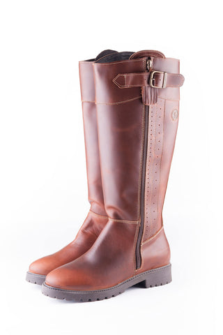 Chestnut - Middleham Riding Boot