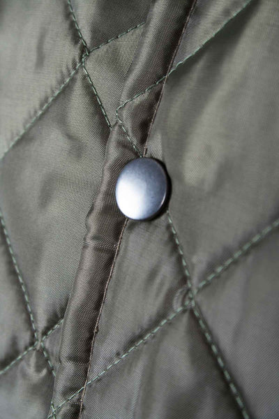 Olive - Diamond Quilted Eventer Waistcoat