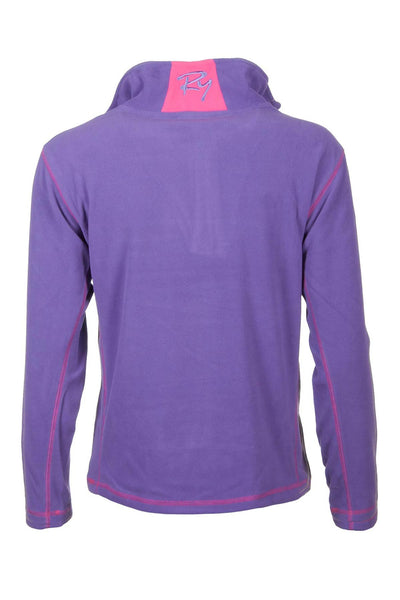 Orchid - Rydale Ladies Gaton Half Zip Micro-Fleece