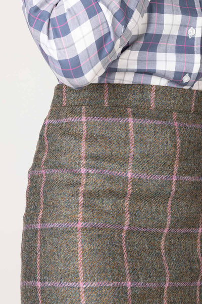 Emily - Wool Tweed Skirt