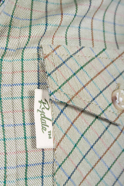 Poacher Olive - Rydale Juniors' Boys' Country Check Shirts