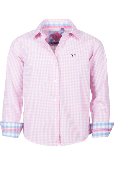Poppy Check - Rydale Juniors' Girls' Country Classic Shirts