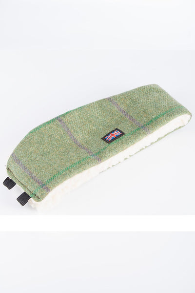 Purple / Green - Sherpa Linda Tweed Headband