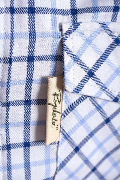 Richmond Fine Blue/navy - Rydale Juniors' Boys' Country Check Shirts