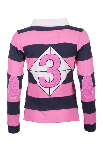 Navy/Pink - Rugby Shirt