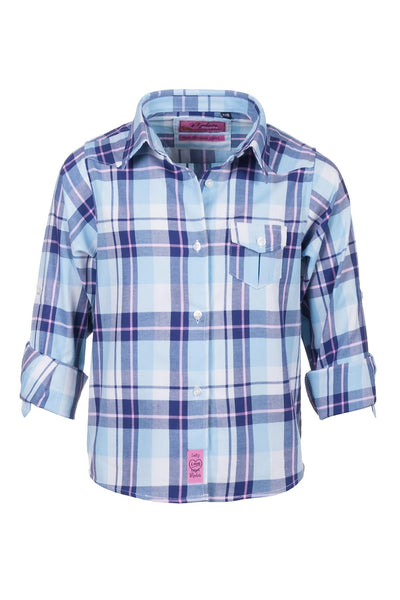 Sally Blue - Rydale Juniors' Girls' Country Check Shirts