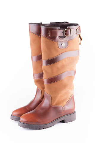 Malham Zip Leather Boots