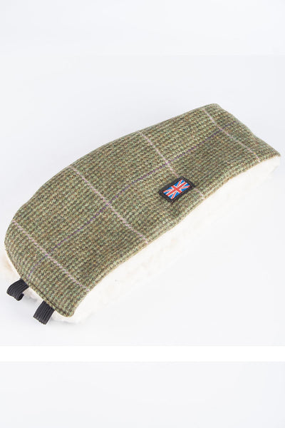 Small Check - Sherpa Linda Tweed Headband
