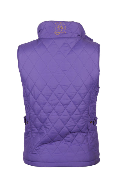Orchid - Soft Quilted Biker Babe Gilet