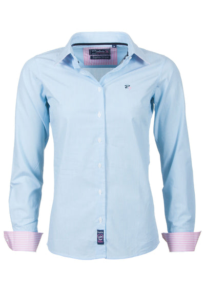 Sophia - Pin Stripe Ladies Shirt