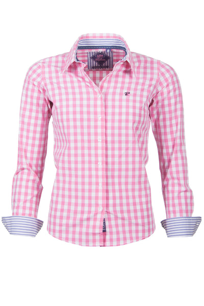 Tabitha - Checked Ladies Shirt