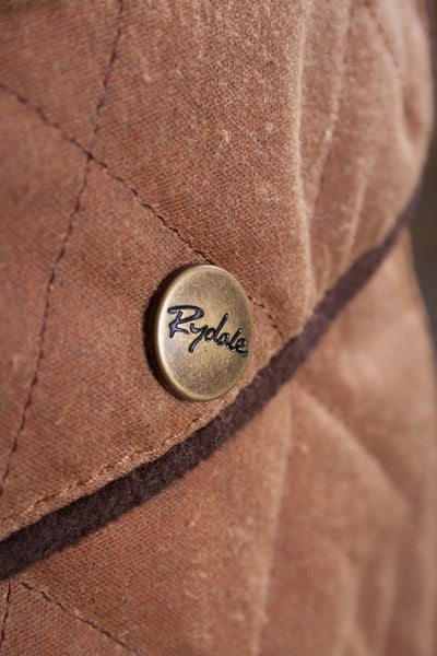 Tan - Rydale Womens 100% Waxed Cotton Country Jacket