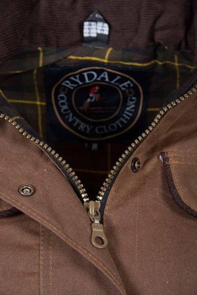 Tan - Rydale Gayle Waxed Jacket
