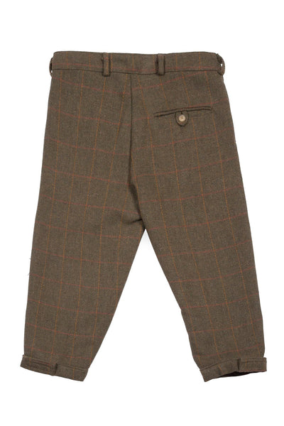 Dark Check - Tweed Breeks
