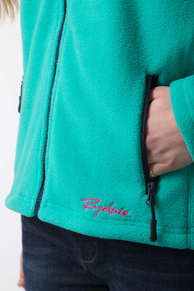 Deep Aqua - Ladies Agnes II Fleece Jacket