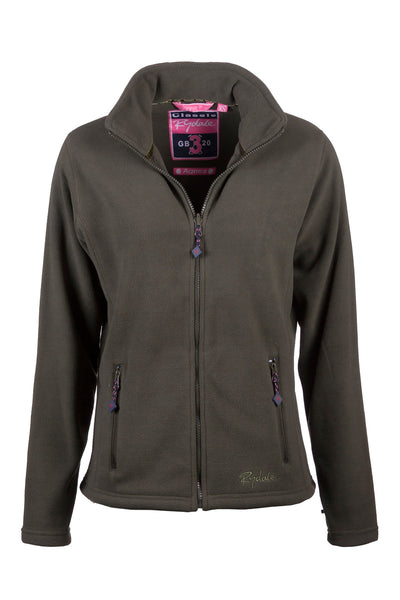 Dark Olive - Agnes Fleece Jacket