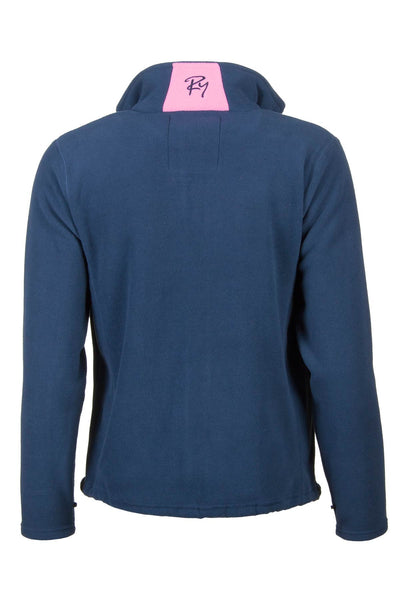 Navy - Agnes Fleece Jacket