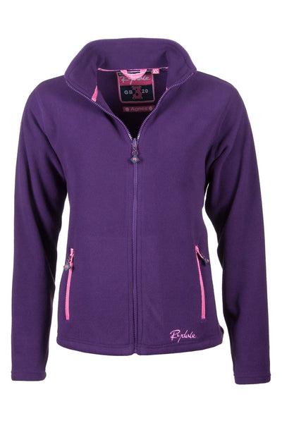 Purple - Agnes Fleece Jacket