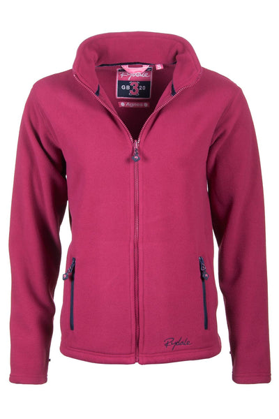 Wine - Agnes Fleece Jacket
