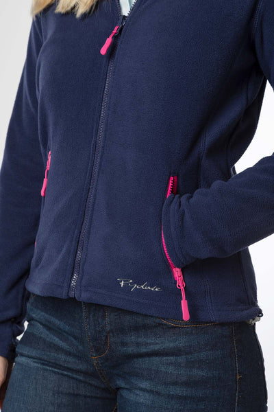 Navy - Agnes III Ladies Fleece