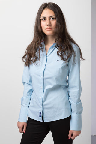 Anna Blue/White - 2016 ladies shirt