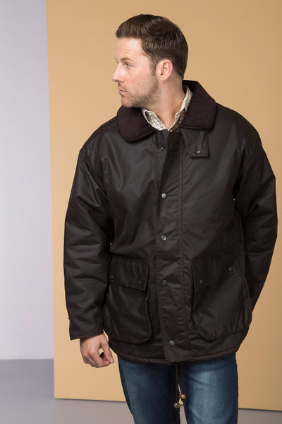 Brown - Rydale Traditional Wax Jackets