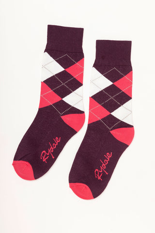Argyle Ankle Socks