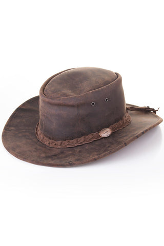 Ash - Antique Leather Hats