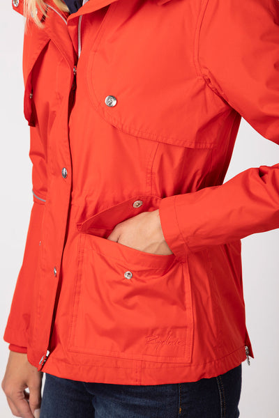 Cherry - Askwith Short Riding Coat