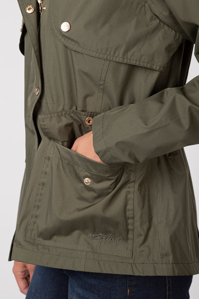 Khaki - Askwith Short Riding Coat