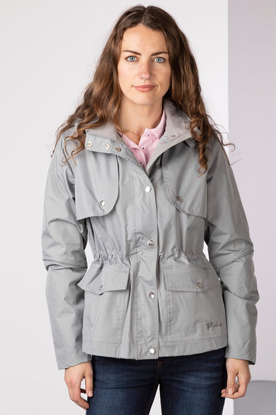 Light Grey - Askwith Short Riding Coat