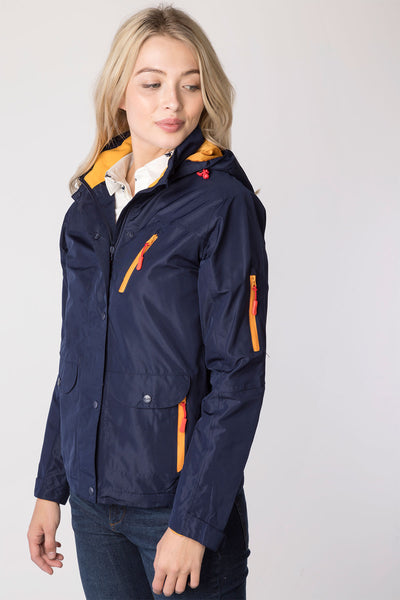 Navy - Ladies Azerley II Waterproof Jacket