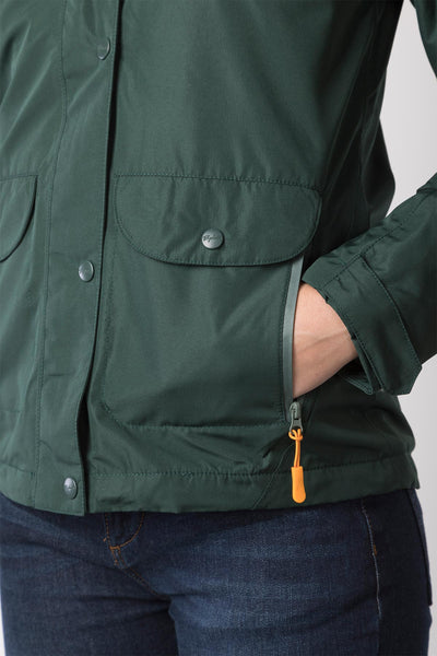 Olive - Ladies Azerley II Waterproof Jacket