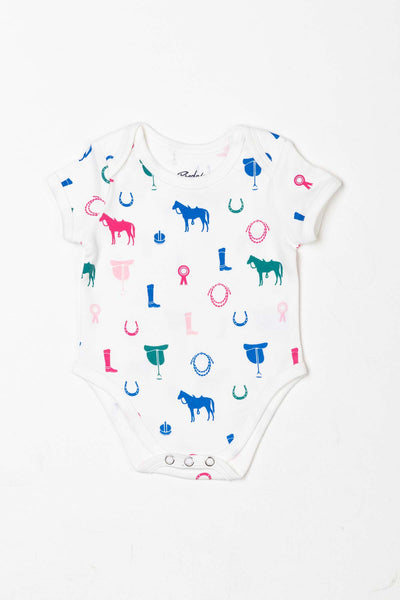 Pony Pink - Baby Bodysuits (2 Pack)