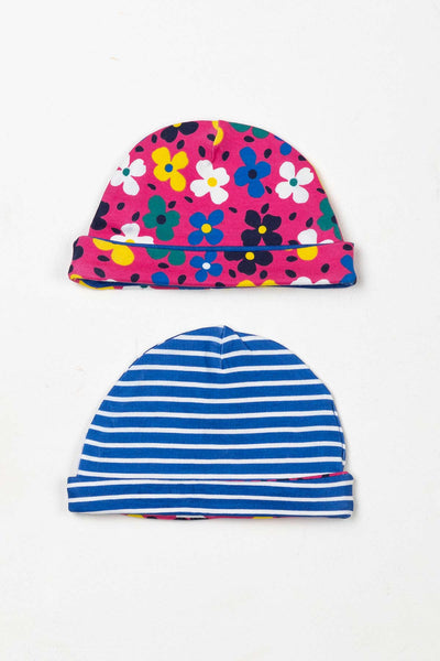Petal Blue - Baby Hats (2 Pack)