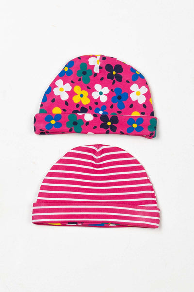 Petal Pink - Baby Hats (2 Pack)