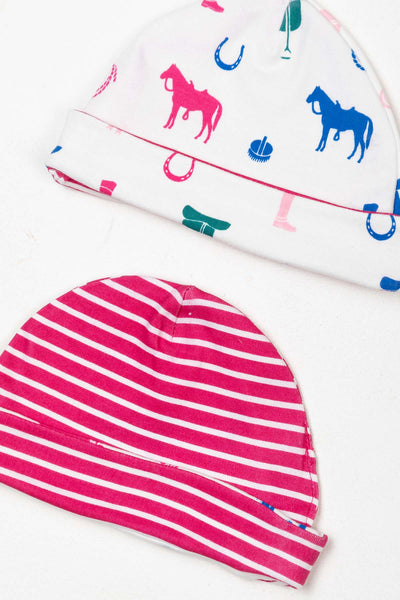 Pony Pink - Baby Hats (2 Pack)
