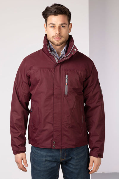 Claret - Mens Bainton II Waterproof Jacket