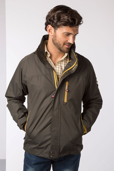 Olive - Mens Bainton II Waterproof Jacket