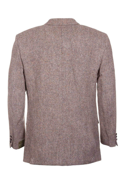 Men's Beige Harris Tweed Jacket - Barva